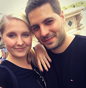 Mihalik Gyöngyvér és Vicsai Gábor